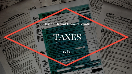 How to Deduct Discount Points From Taxes